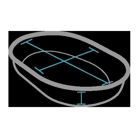 Dimensione Interna Ciotola